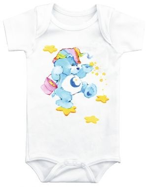 Care bears I need to find these onesies!