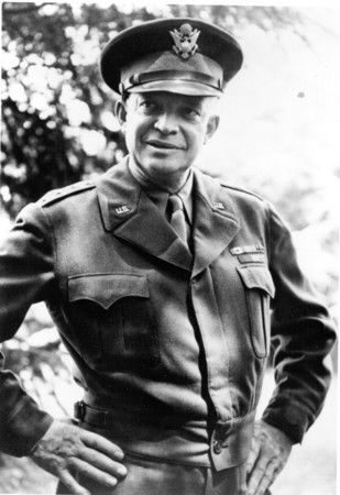 General Dwight D. Eisenhower in World War II.