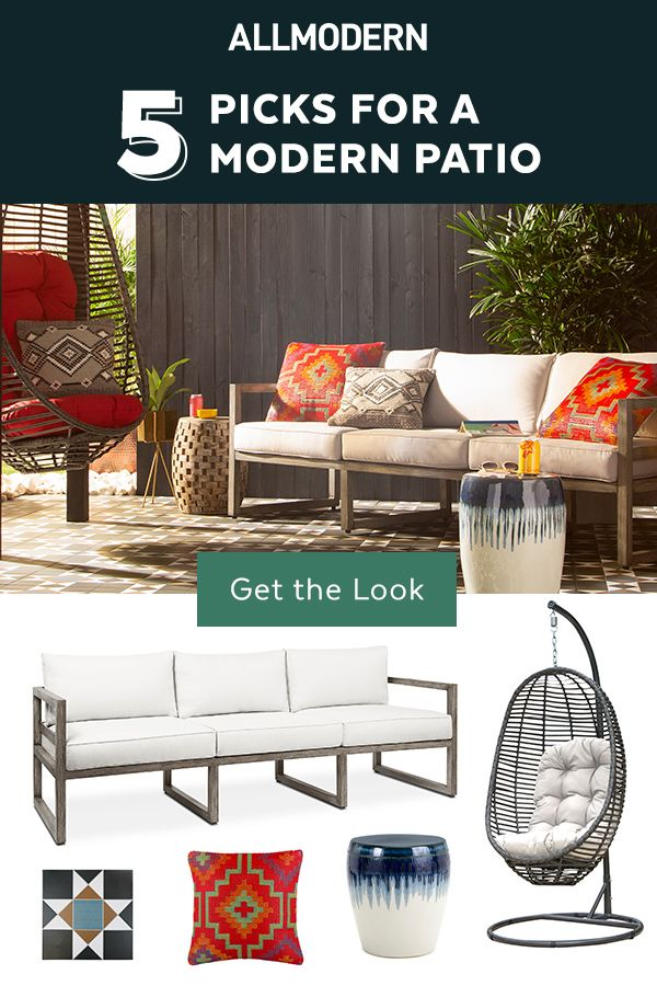 Modern Outdoor Furniture Decor From Allmodern Rustic Living Room Furniture Modern Outdoor Furniture Patio Furniture Sets