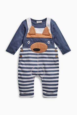 Calling all fox lovers! You can now make your kids dress like one with this ADORABLE dungaree combo!