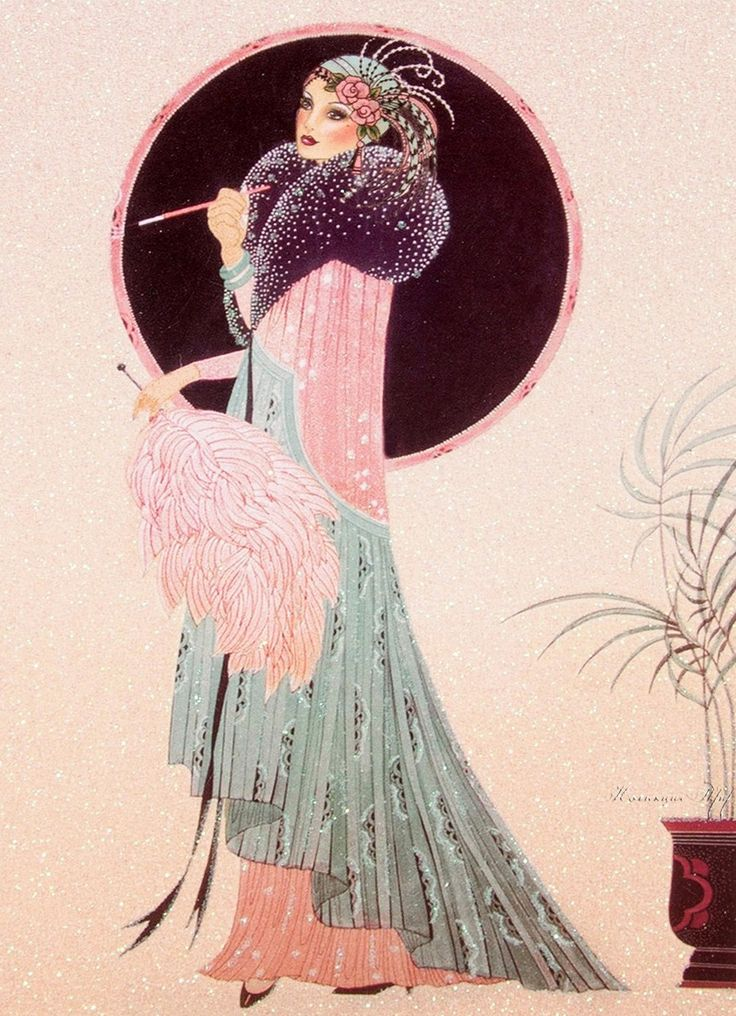 Art Deco Nouveau: 108 Best Images About Art Deco Ladies On Pinterest