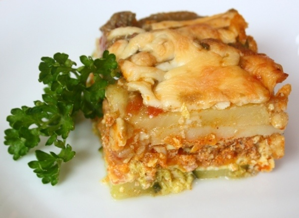 Lasagna with Zucchini instead of pasta. | Paleo | Pinterest