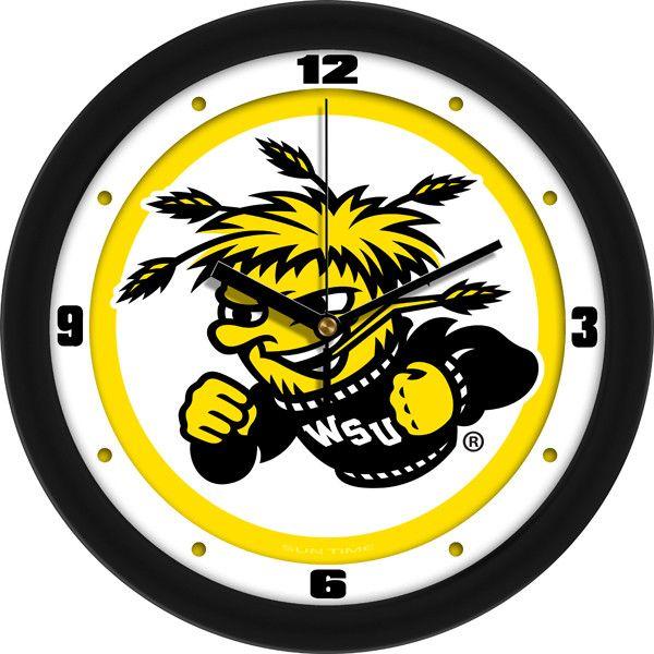 Mens Wichita State Shockers - Traditional Wall Clock
