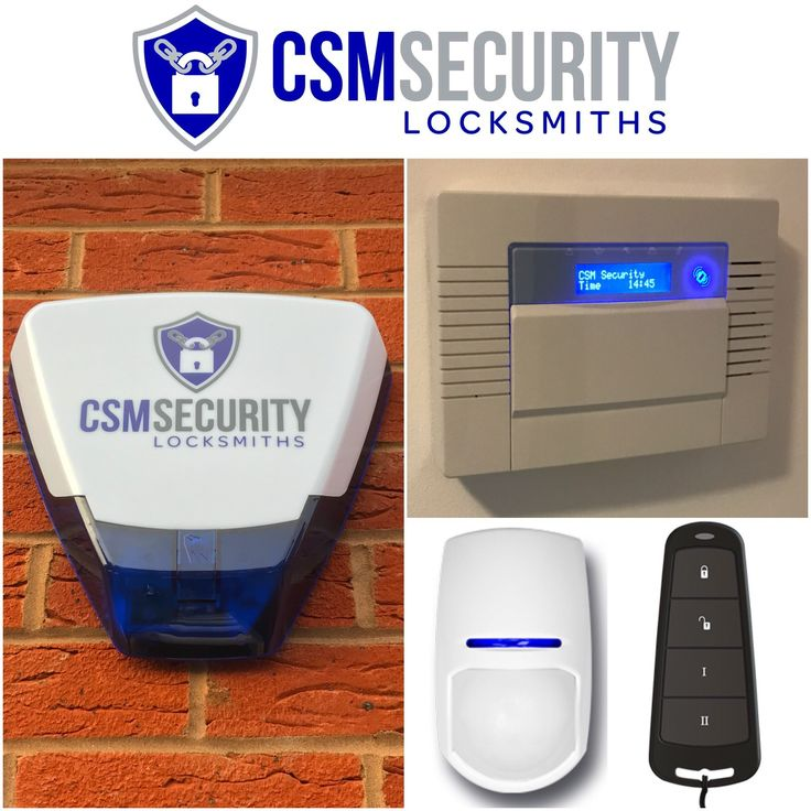 Grade 2 wireless alarm system, with pet friendly PIR sensors & key-fob to activate/deactivate alarm system. #HomeSecurity #BurglarAlarm