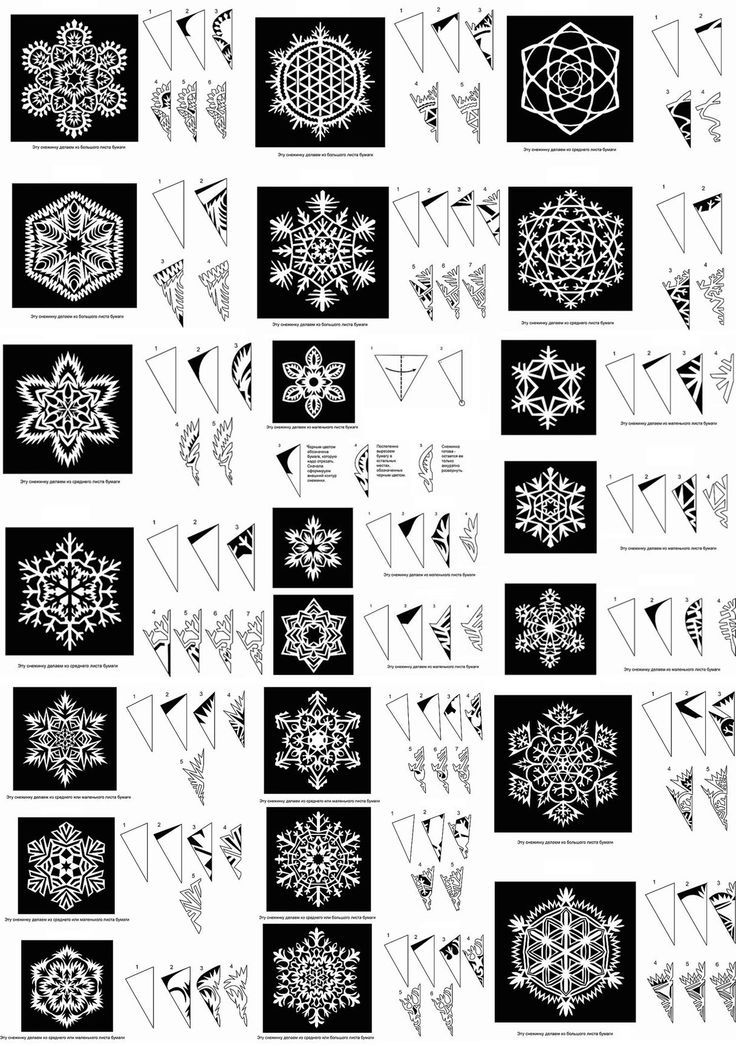 Snowflake Patterns: