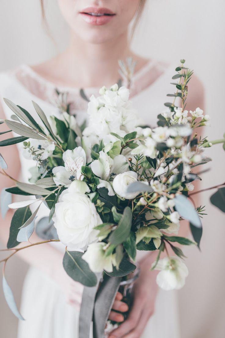 Image by Paulina Weddings - Bridal Separates From Atelier Twardowska Delicate Botanical Shoot Images by Paulina Weddings