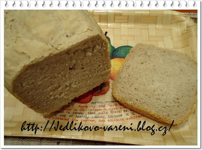 Jedlíkovo vaření: domácí pekárna - kváskový chleba z domácí pekárny  #recept #chleba #pekarna