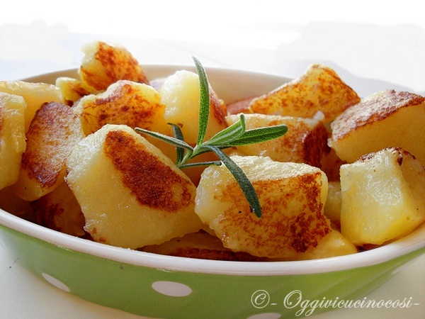 Potatoes in the Oven Light ...