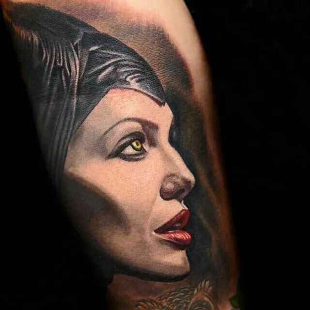 1000 images about portrait tattoos on pinterest nikko hurtado maleficent and tattoo designs. Black Bedroom Furniture Sets. Home Design Ideas