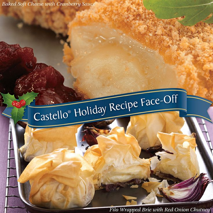It's time to vote for your favourite Castello #Brie holiday recipe!   Click on the image to vote for your favourite recipe for your chance to #win $25 in Castello grocery vouchers!