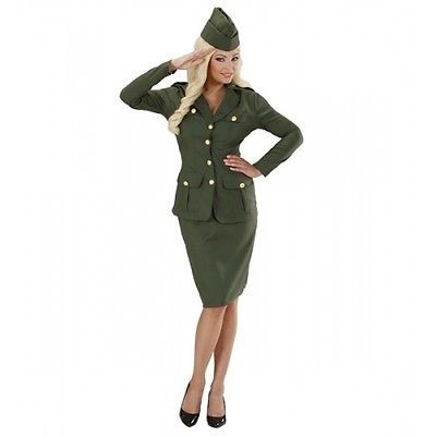 #Ladies womens ww2 soldier girl #costume outfit for wwii war army fancy #dress,  View more on the LINK: 	http://www.zeppy.io/product/gb/2/301894245255/