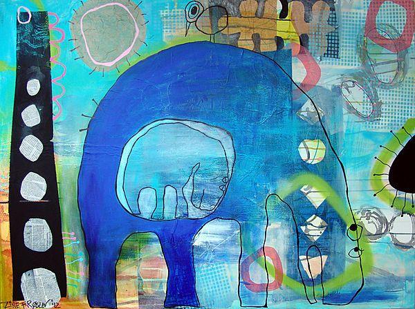 Over tiden/Over time, 90x120 cm.,  Line Frøslev, 2012. www.linefroeslev.dk