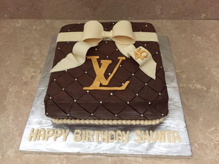 Luis Vuitton Birthday Cake