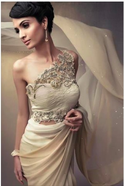 sari inspired wedding dress wedding ideas pinterest