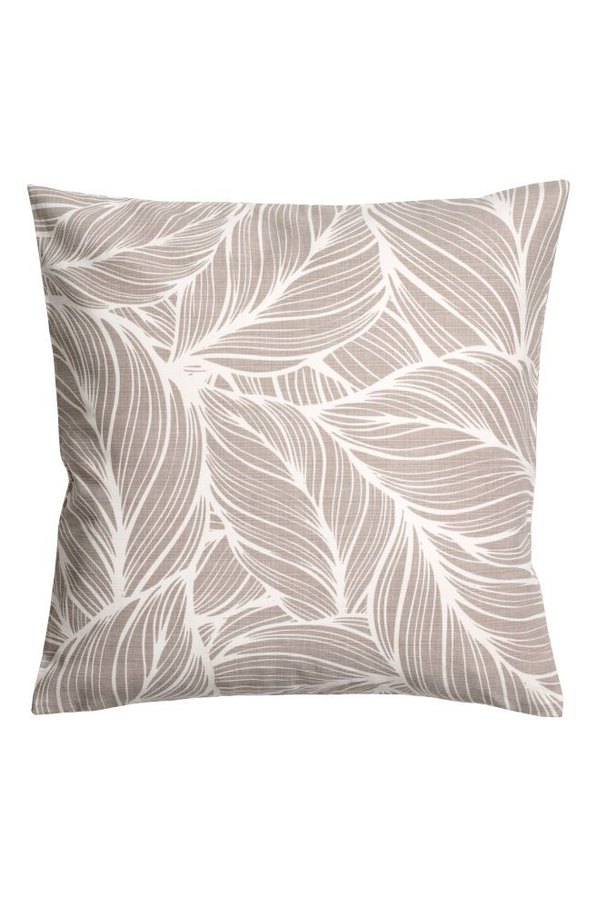 Slub Weave Cushion Cover Living Room Pillows H M Home Brown