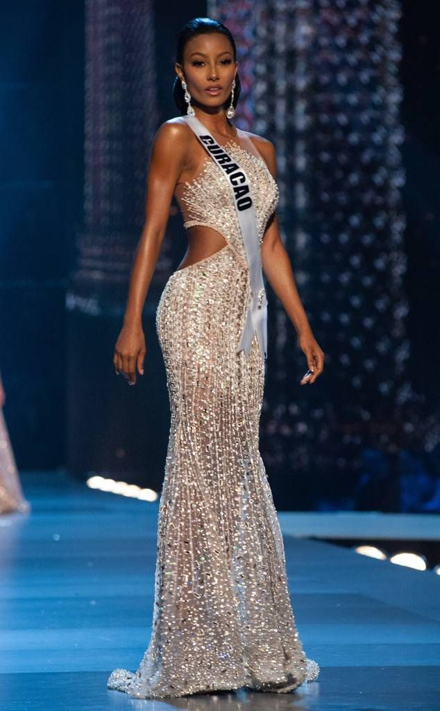 Miss Curacao from Miss Universe 2018 Evening Gown Competition in