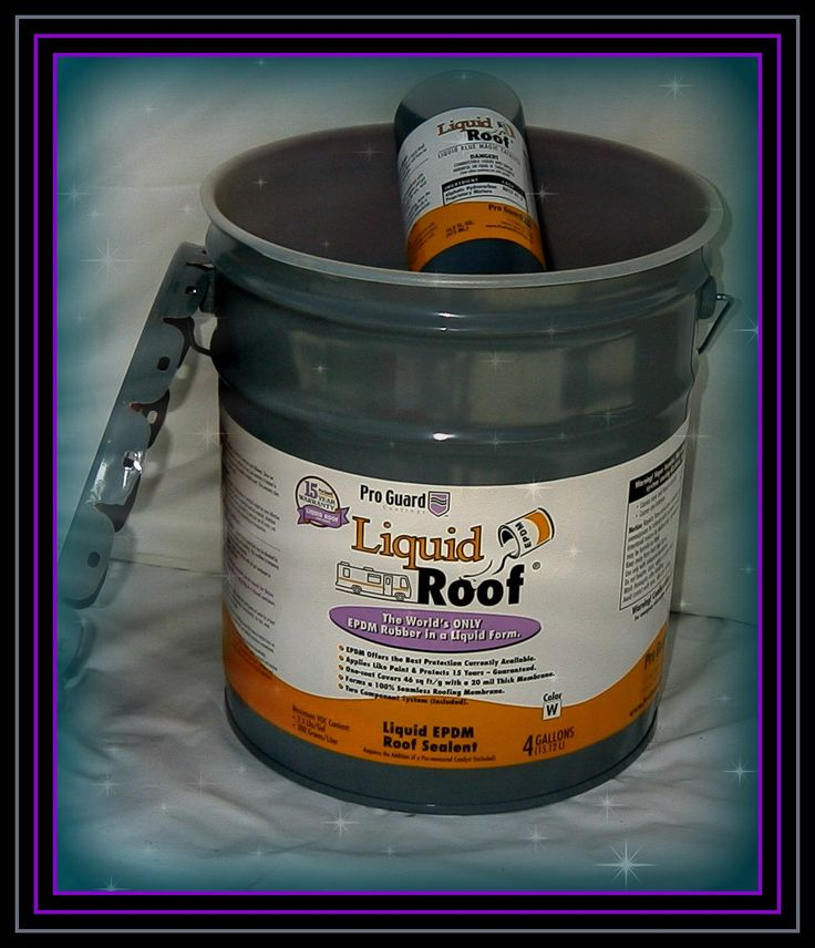 RV Roof Repair Done Easy With Liquid Roof. Meridian Liquid Coatings Is The  Best Of The Liquid Roof Dealers With Liquid Roof For Sale Online
