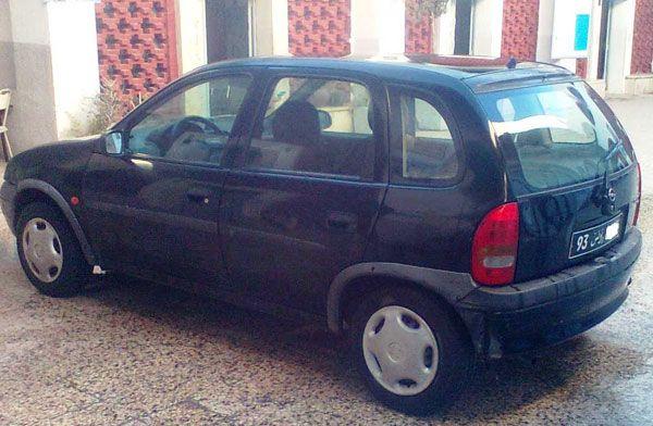 Annonce de vente de voiture occasion en tunisie OPEL CORSA Tunis