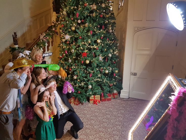 Beautiful Alternative Christmas Party Ideas Part - 9: Props Galore With Our Magic Selfie Mirror - A Superb Alternative To A  Photobooth!