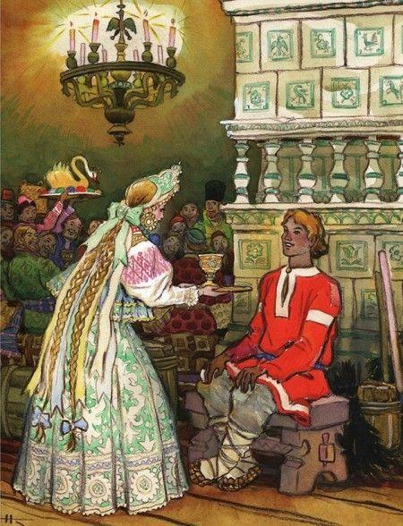 Иллюстрации к русским сказкам. Николай Кочергин