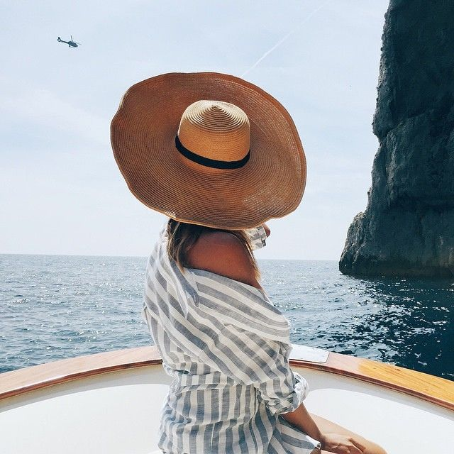 Perfect floppy hat for the beach