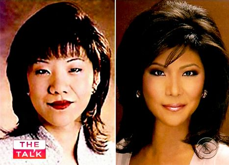 "Julie Chen Plastic Surgery Confession: Before and After Pictures - Us Weekly. Host of ""Big Brother"" and ""The Talk."""