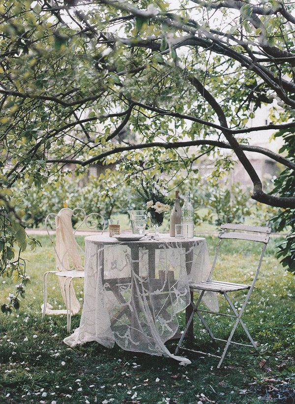 Romantic garden retreat by Mikkel Vang, styled by Sibella Court for Country Style Australia.