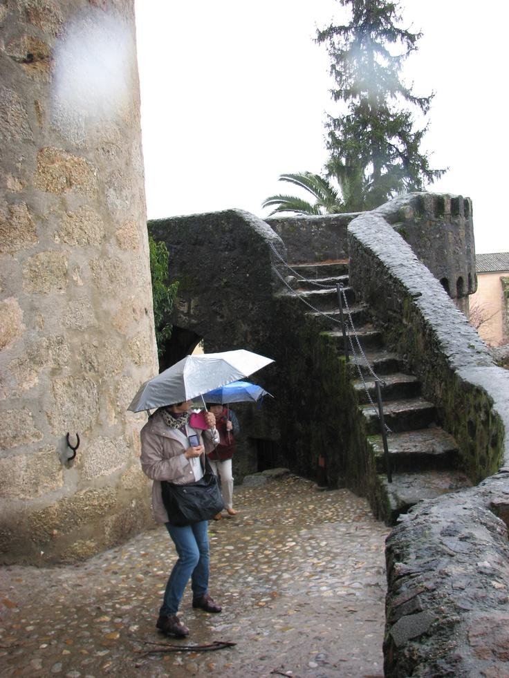 Otro rincón del Parador de Turismo de Jarandilla de la Vera.