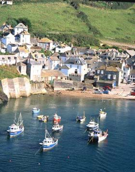 Doc Martin Port Isaac Cornwall  I love the show would love to see the village :)