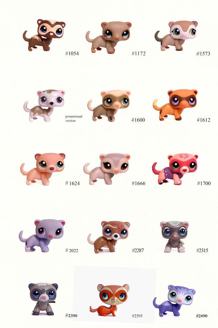 Nicoles Lps Blog Littlest Pet Shop Pets Ferret