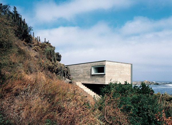 Pite House and Copper House 2 by Smiljan Radic, Chilean architect