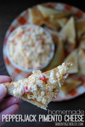 Pepperjack pimento cheese - easy recipe