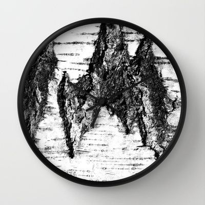 Wall Clock • 'Bjørk' • IN STOCK • $30.00 • Go to the store by clicking the item.