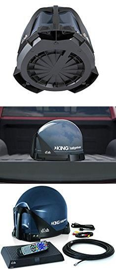 King Tailgater 2. KING VQ4510 Tailgater Bundle - Portable Satellite TV Antenna and DISH HD Solo ViP 211z Receiver.  #king #tailgater #2 #kingtailgater #tailgater2