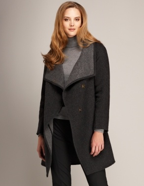 Alpaca coat by Wall London #ethicalfashion