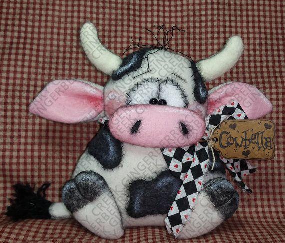 E-Pattern Cowbella Pattern 172 Primitive por GingerberryCreek