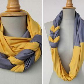 t-shirt scarf