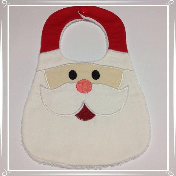 Bavaglia Babbo Natale di unfilotiralaltro su Etsy