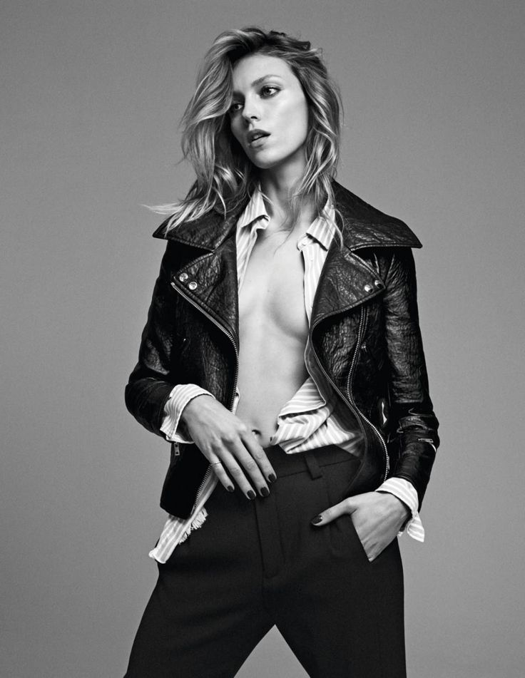 "ko-no-ko: "" Anja Rubik for Grazia France """