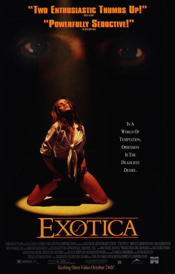 Exótica (1994) Canadá. Dir: Atom Egoyan. Drama. Películas de culto - DVD CINE 560