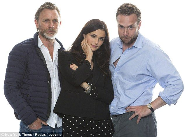 Daniel Craig, Rachel Weisz and Rafe Spall, who are in a scorching production of Betrayal