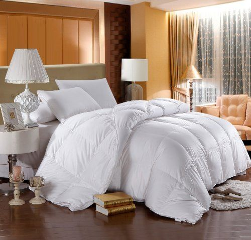 LUXURIOUS 800 Thread Count HUNGARIAN GOOSE DOWN Comforter - King Size, 750 Fill Power, 50 oz Fill Weight, 100% Egyptian Cotton Cover Egyptian Bedding http://www.amazon.com/dp/B002XZ4704/ref=cm_sw_r_pi_dp_-tzwub1WY860D