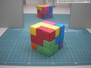 O que é meu é nosso: Origami Cubo Soma