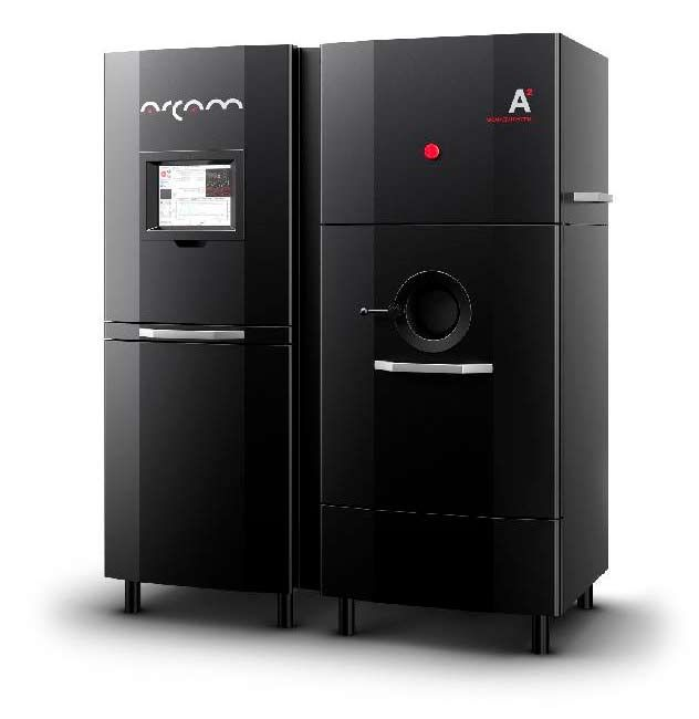 Arcam A2   – Additive Manufacturing for the Aerospace industry #3dprinter #aerospace #ebm