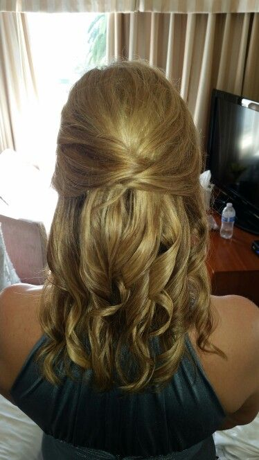 Mother Of The Bride Hair Half Up By Whitney White Beauty