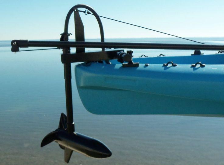 Transom Mount Kayak Motors | Kayak Motor - Island Hopper Outboards … | Pinterest