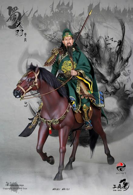 toyhaven: Check out 303 Toys new China series 1/6 scale General Guan Yu (Yunchang) 12-inch figure