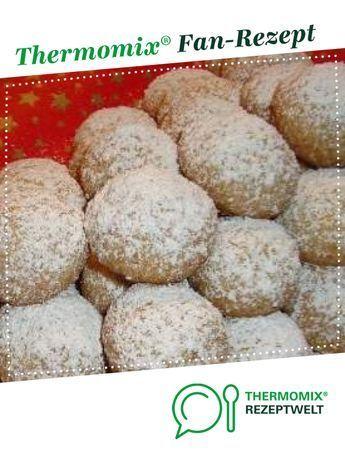 Weihnachts Schneebällchen, Plätzchen, Kekse