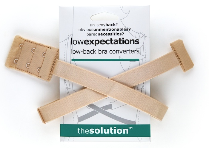 Low back bra converter. Must have for open back dresses and shirts.