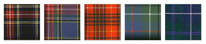 Тартан — традиционный шотландский рисунок в клетку.